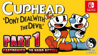 #1【CUPHEAD/日本語版】激ムズ2Dアクション!1930年代アニメ世界での債権回収業務録【カップヘッド】