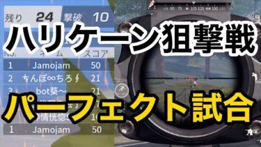 【ハリケーン狙撃戦で完全試合!パーフェクトゲーム!】荒野行動実況(knivesout)