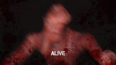 【フリーホラーゲーム】血を頭から被ったようなオッサンに追われる!心拍数をリアルタイムで計測!【Alive】鳥の爪団実況