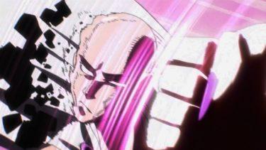 サイタマのすべての強力な攻撃! 『ワンパンマンクールなアニメ』