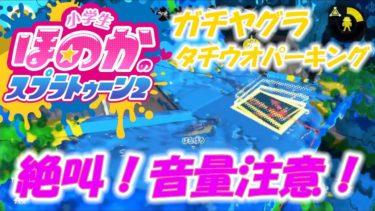 【ウデマエX】小6女子のゲーム実況 絶叫!音量注意! ガチヤグラ タチウオパーキング