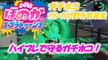 【ウデマエX】小6女子のゲーム実況 ハイプレで守るガチホコ! ガンガゼ 52ガロンデコ