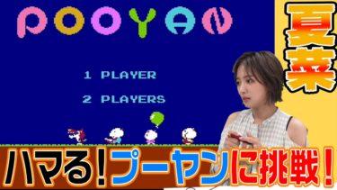 夏菜ゲーム実況第2弾!地味にハマる「プーヤン」に挑戦!