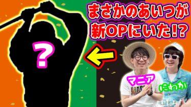 【ワンピース】新アニメオープニングにあのキャラの正体のヒントがあった!?ONE PIECE