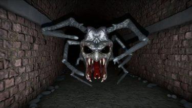 迷路でクモのバケモノに追われるホラーゲームが超コワい – ゆっくり実況