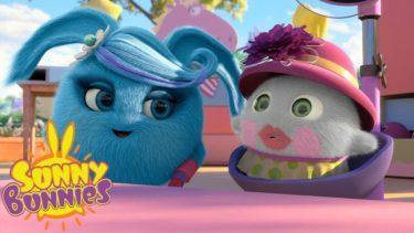 SUNNY BUNNIES | ホッパー맑은 인형 | 子供のための面白い漫画 | WildBrain