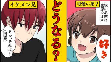 【漫画】イケメンの兄貴と可愛い弟分が恋をするとどうなるのか?【マンガ動画】