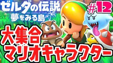 マリオキャラが大集合!!ミニゲームを攻略せよ!!夢をみる最速実況Part12【ゼルダの伝説 夢をみる島】