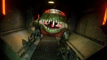 宇宙船で「人喰いカエル」に追われるホラーゲームが怖い – ゆっくり実況