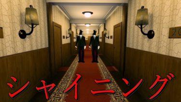映画シャイニングのホテルが舞台になったホラーゲームかと思ったら全く違かった。